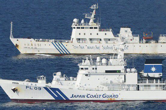 Japão aumentará presença militar no disputado com a China Diaoyu Island (Senkaku)