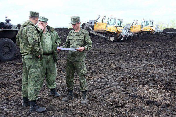 O vice-ministro da Defesa da Federação Russa controlou a construção de um ramal ferroviário ignorando a Ucrânia
