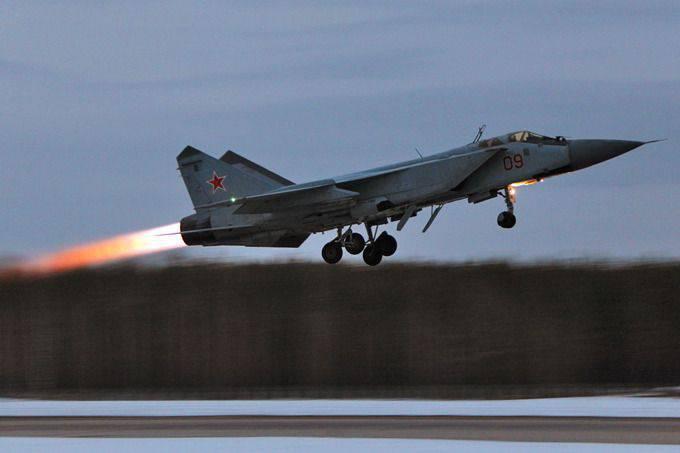 No Extremo Oriente, um míssil de cruzeiro inimigo foi interceptado