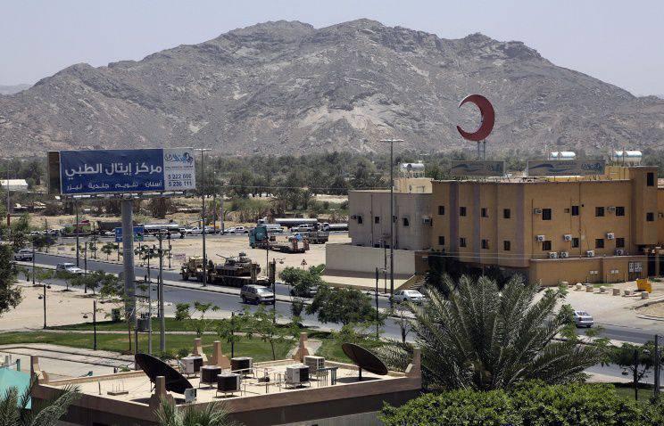 Tribos rebeldes conseguiram repelir o aeroporto no sul da Arábia Saudita