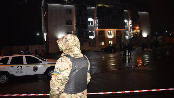 Outra explosão em Odessa