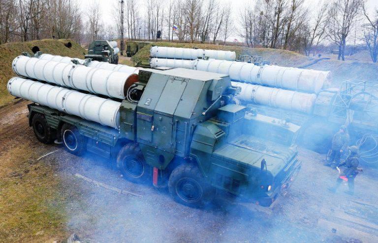 """""""Almaz-Antey"""" entregou um conjunto de C-300B4 aos militares russos"""