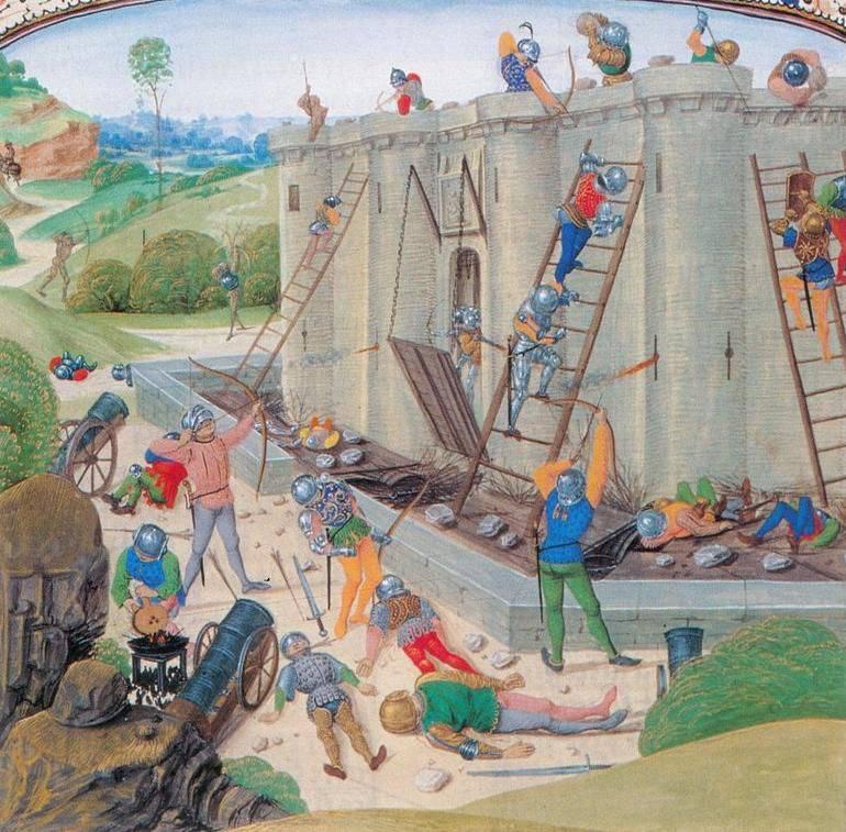 Castelo e fortaleza: da antiguidade à Primeira Guerra Mundial