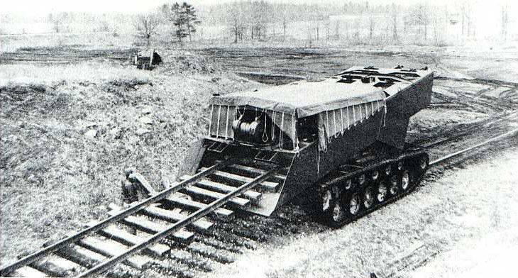Destruidor de projetos M46 Rapid Railway Destructor (USA)