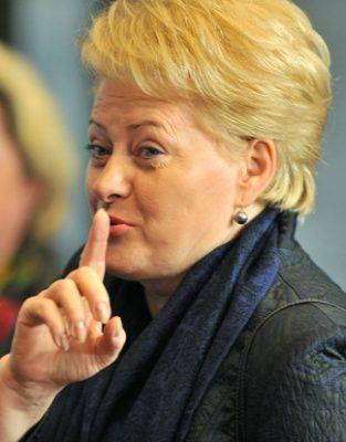 Dalia Polikarpovna Grybauskaite: trahison, élévation et échec d'un équilibriste politique