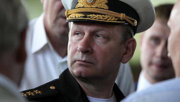 Commandant de la marine russe: Nous dépensons de l'argent et investissons dans la même chose. Mais à la fin nous n'avons rien
