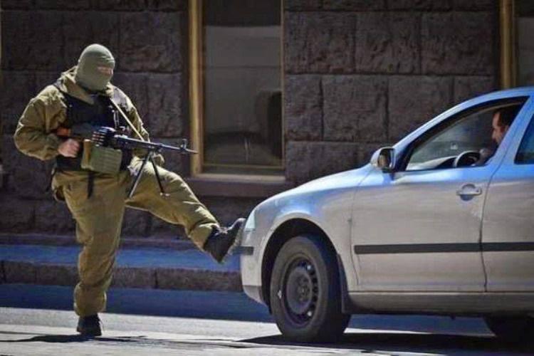 Poroshenko: banditismo na Ucrânia rola. Balaclava será banido