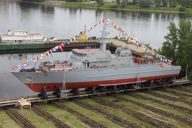 Die Zusammensetzung der Schwarzmeerflotte wird zwei Fiberglas-Minensuchboote umfassen.