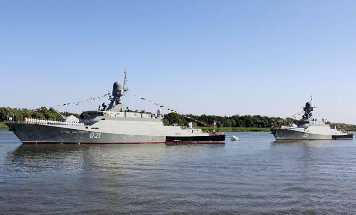 Zelenodolsk Gorky Plant: de barcos especiais para navios patrulha