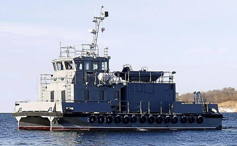 Novos navios de busca e salvamento a serviço da Marinha Russa