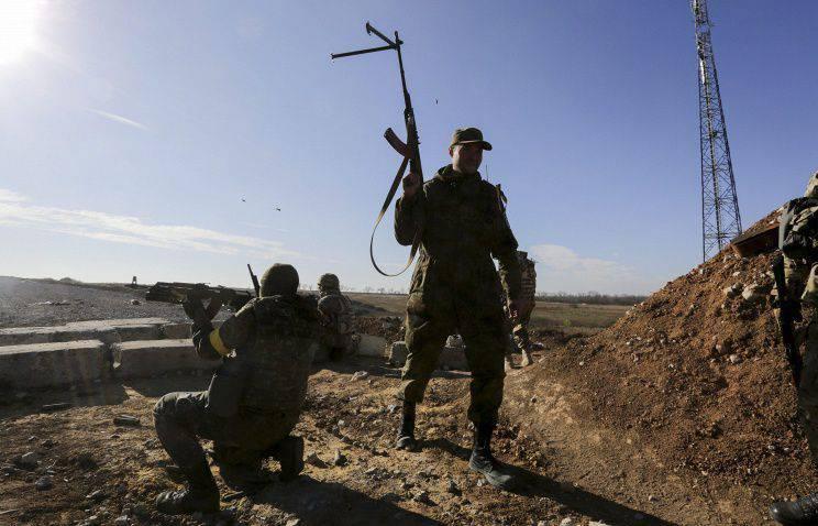 """""""Right Sector"""" a bloqué les travaux de la mission d'observation de l'OSCE à Avdeevka"""