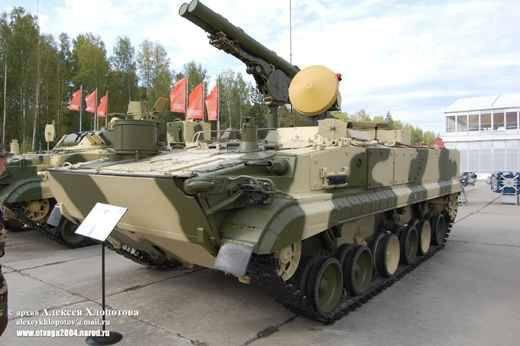 """Complexos anti-tanque """"Crisântemo-S"""" será equipado com vistas de televisão térmica da Bielorrússia"""