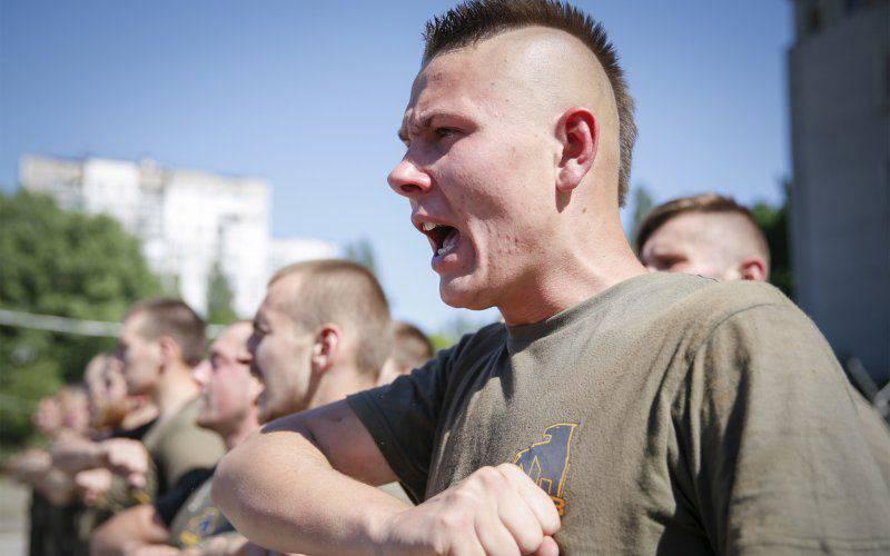 """In der amerikanischen Ausgabe stellten sie die Frage: """"Was ist, wenn Amerika der Ukraine beibringt, wie man die Neonazis bekämpft?"""""""