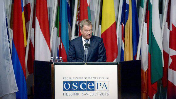 Le président finlandais a critiqué la position de l'UE sur la délégation russe de l'AP-OSCE