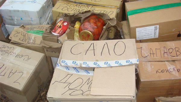 Ukrainische Soldaten verkaufen freiwillige Hilfe