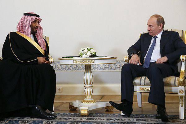 Die USA befürchten, dass Saudi-Arabien rund 10-Milliarden-Dollar in Russland investiert