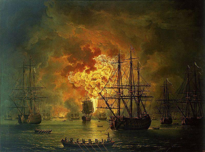 """""""Com um golpe, todo o poder marítimo do Império Otomano foi destruído ..."""""""
