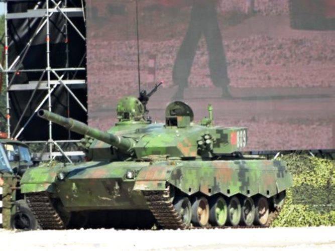 Welchen Panzer bringen die Chinesen zum aktuellen Panzerbiathlon?