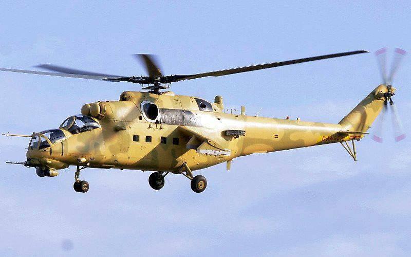 Eine weitere Charge russischer Hubschrauber wurde in den Irak geliefert