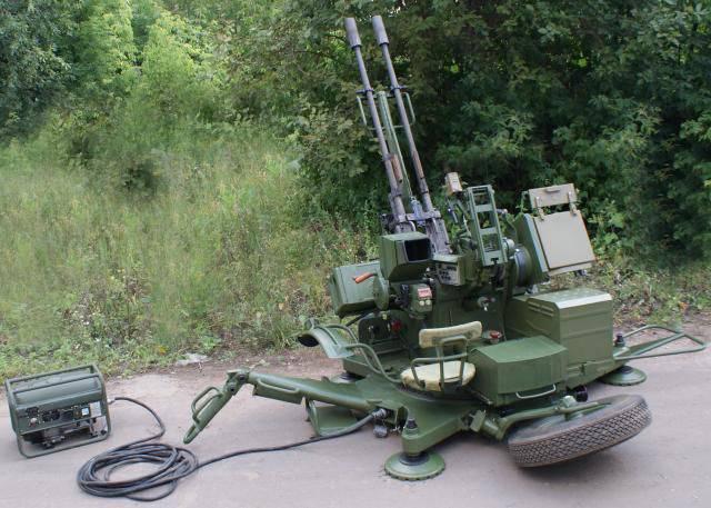Зенитные установки семейства ЗУ-23/30М1