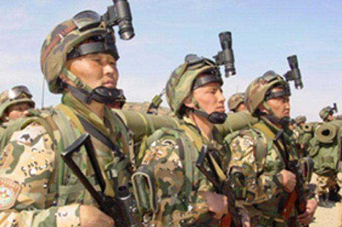 Alerte militaire kazakh