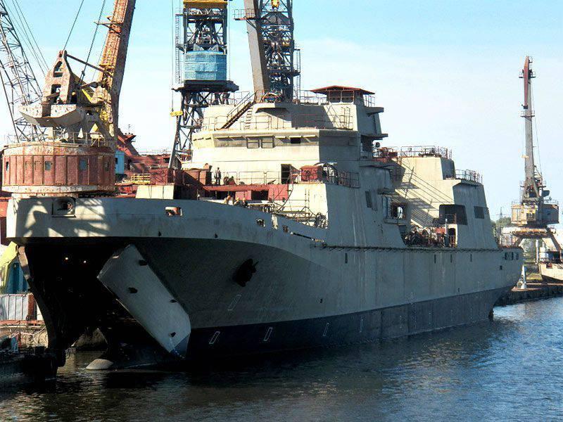 """Die russische Marine erhält zwei statt sechs große Landungsschiffe vom Typ """"Ivan Gren"""""""