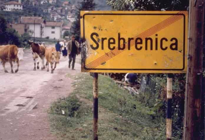 Antwort der USA auf die Blockierung der Resolution von Srebrenica durch Russland im UN-Sicherheitsrat