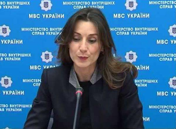 Eka Zguladze pourrait diriger une nouvelle structure en Ukraine - la police nationale