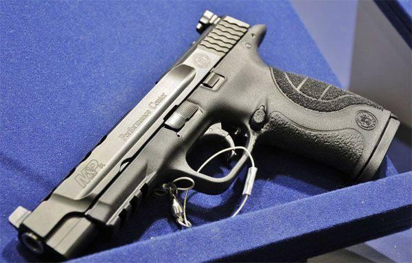 Nouveaux pistolets M & P de Smith & Wesson à Nuremberg