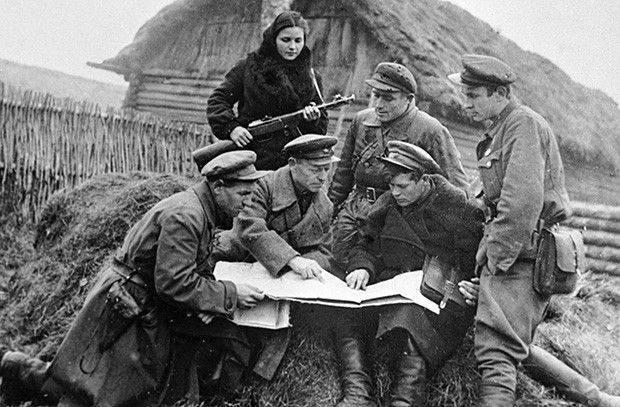 Partisanen des Großen Vaterländischen Krieges