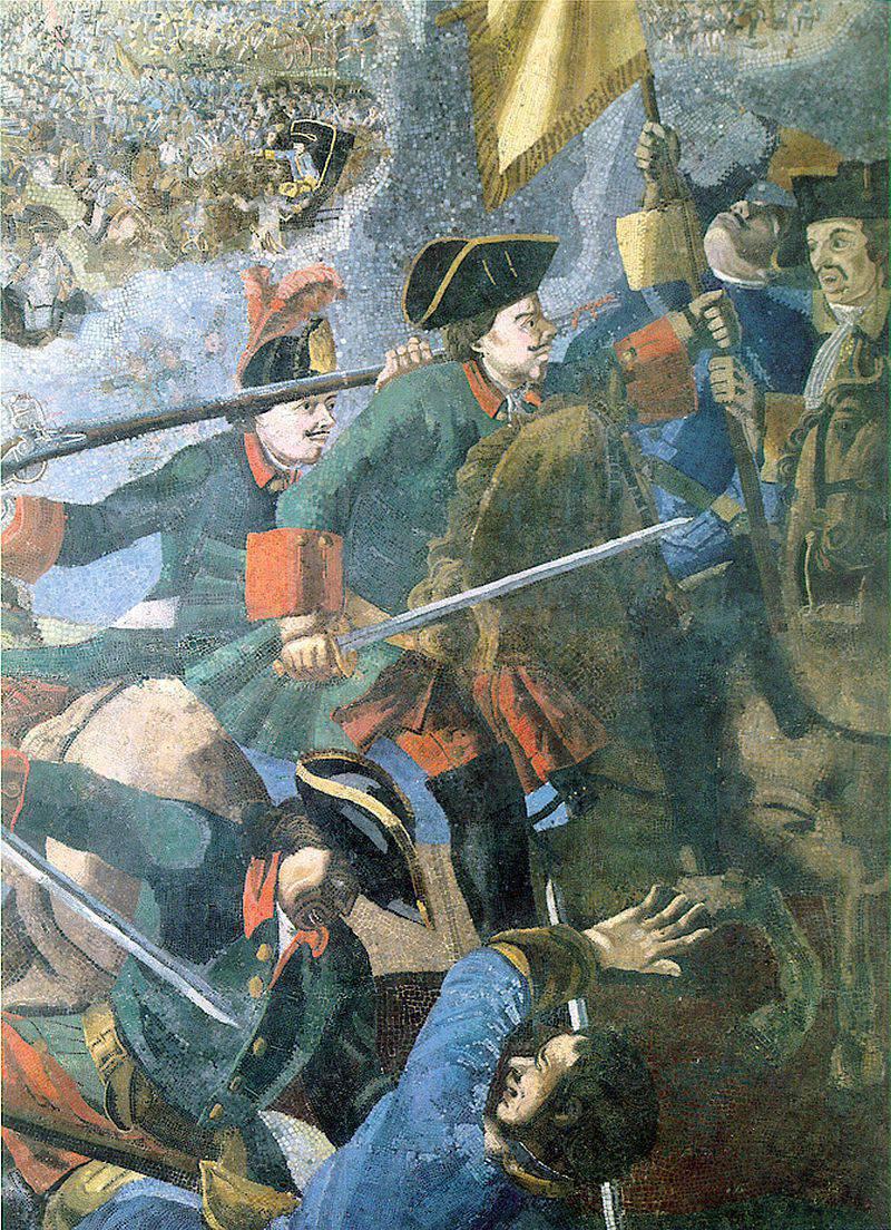 Dia da Vitória do exército russo sobre os suecos na Batalha de Poltava