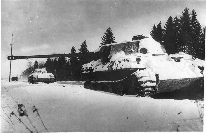 Duel de tank inégal. Partie de 1. T-70 vs. Panther