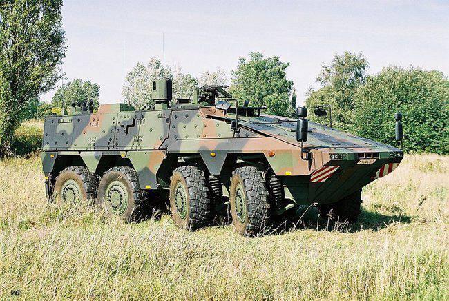 Forças armadas lituanas que compram portadores de pessoal blindados alemães de Boxer