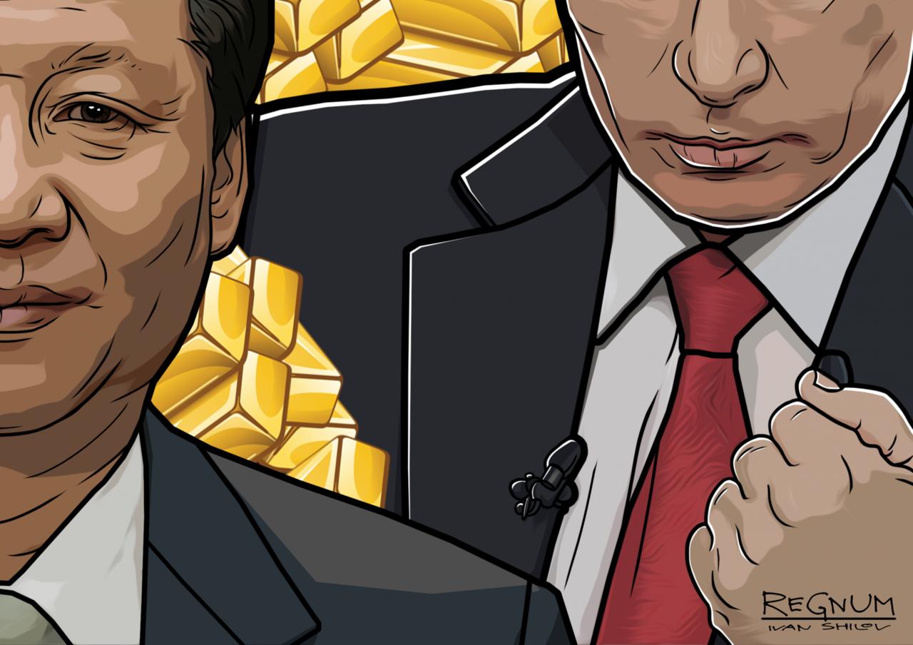 В США рассказали, как Россия и Китай будут использовать накопленное золото
