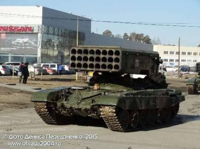 """일부 매개 변수에서 러시아 군대와 함께 일하는 """"Suns""""는 수출 견본보다 열등하다"""