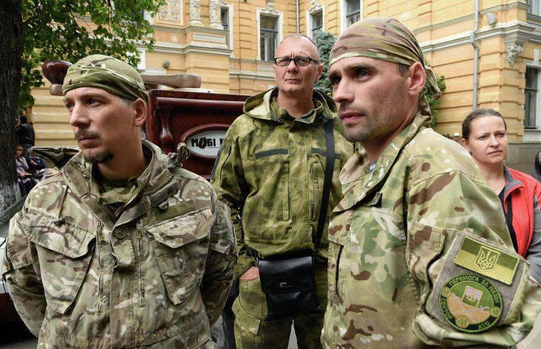 """""""Richtiger Sektor"""" hat ukrainische Sicherheitsbeamte genötigt, ungehorsam zu sein"""