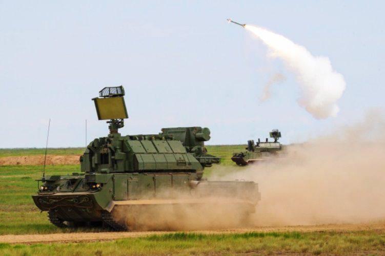 """In der Region Astrachan Berechnungen """"Tor-M2U"""" zerstört sechs """"Samanov"""""""