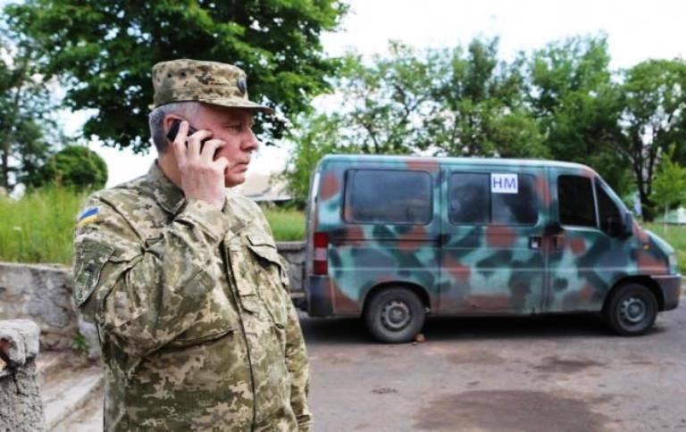 Der ukrainische General, der Teil des JCCC war, wurde aus dem Dienst entlassen und des Verrats beschuldigt