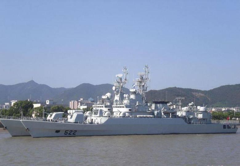 Aggiornamento della marina cinese. Parte di 2