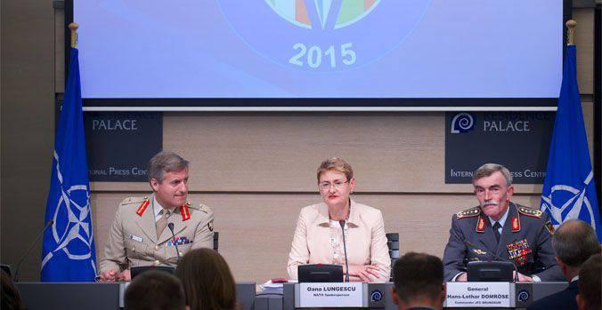 나토군 장군은 러시아가 Trident Juncture-2015의 가르침에 깊은 인상을받을 것이라고 말했다.