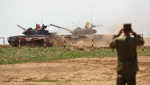 Il Ministero della Difesa della Federazione Russa ha annunciato il programma dei primi giochi internazionali dell'esercito-2015