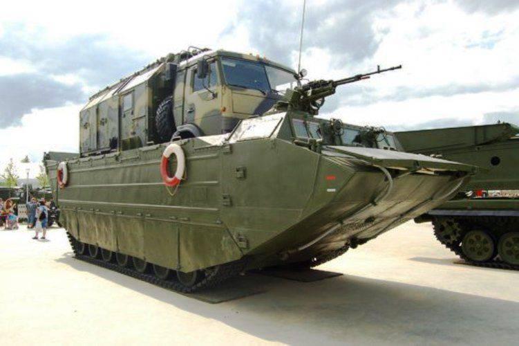 Los transportadores flotantes PTS-4 reemplazarán las versiones obsoletas