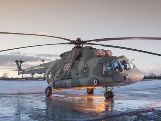 Kasaner Hubschrauber an Militärpartei Mi-8MTV-5-1 übergeben