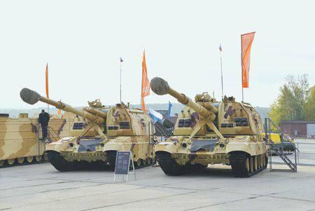 L'obice semovente potenziato 2C19М1 e 2С19М2 hanno un potenziale di combattimento significativamente aumentato. Foto fornite da Uraltransmash JSC