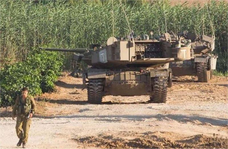 """Israel ha desclasificado vehículo de combate """"Pare"""""""