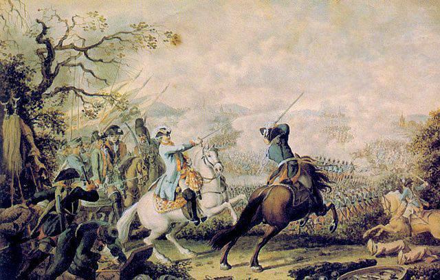 La défaite de l'armée turque à Kagul