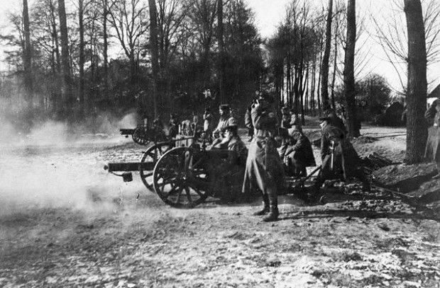 """A derrota do Exército 3 Radko-Dmitriev. A morte da divisão 48 """"Steel"""" do General Kornilov"""