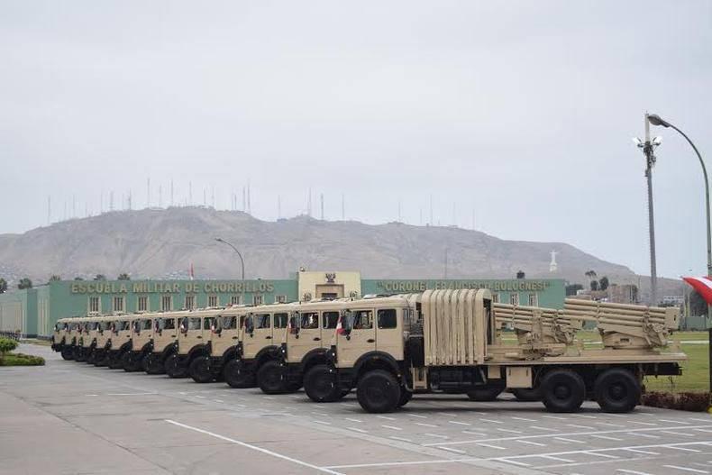 चीन ने पेरू MLRS टाइप 90ATION लगा दिया