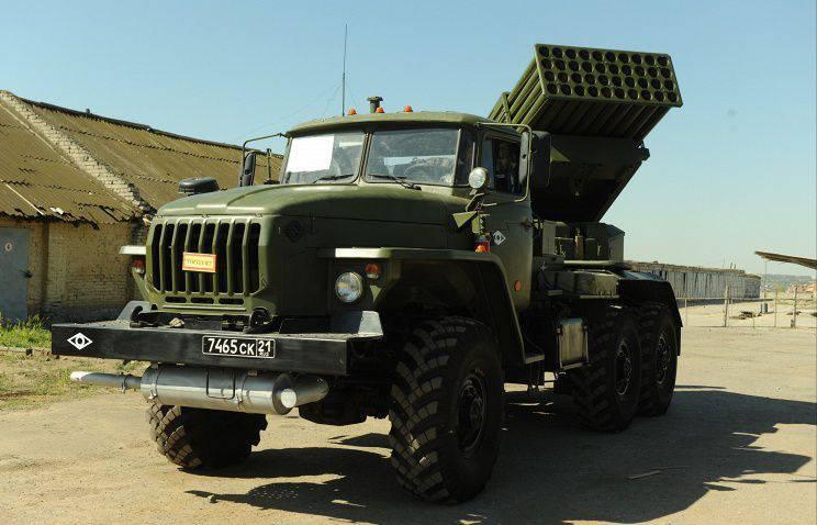 KantemirovとTaman部門は新しいTornado-Gシステムを受け取りました。