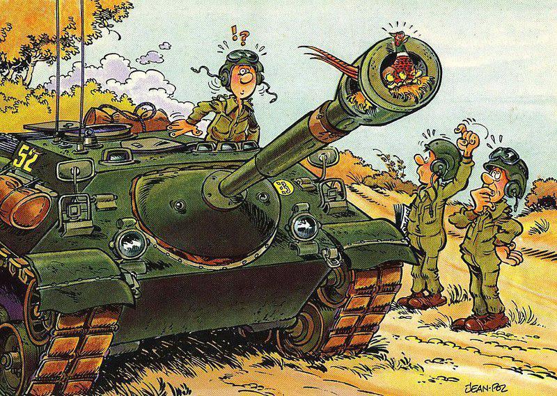 рисунок про танкистов эшелоне